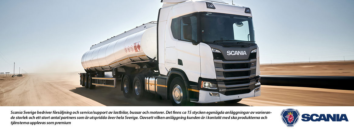 Scania hos Telemanagement